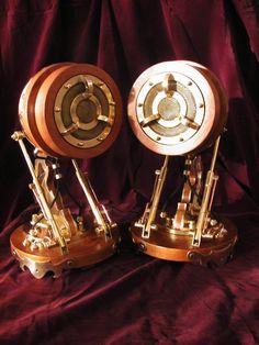 Steampunk Speakers (WOW)