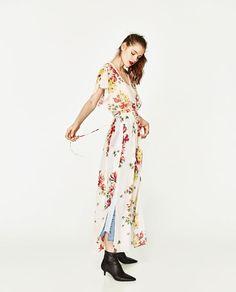 ZARA - WOMAN - LONG DRESS WITH OPENING