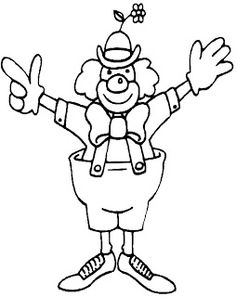 Clowns Coloring Pages Free Printable Hub