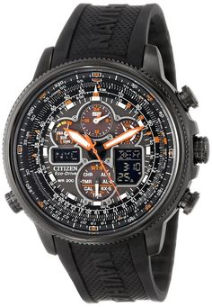 Citizen men watches : Citizen Men's JY8035-04E Navihawk A-T Eco-Drive Perpetual Chrono Strap Watch