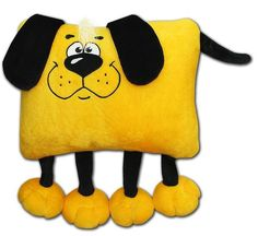 Baby Pillows, Kids Pillows, Animal Pillows, Sewing Toys, Sewing Crafts, Sewing Projects, Mug Rug Patterns, Doily Patterns, Toddler Sleeping Bag