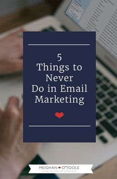 Keep your business professional and classy, always use an email marketing…