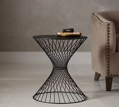Porter Wire Accent Side Table #potterybarn