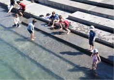 Water Steps - Karanga Plaza