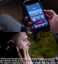 Crowley's voicemail