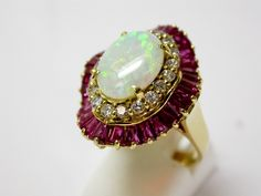 Estate Jewelry - Vintage Opal Ring