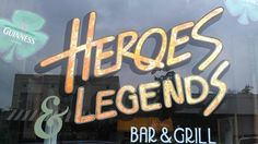 Heroes and Legends in Claremont, Ca is a great place for hearty American fare & a pint of beer.