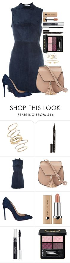 """Untitled #1658"" by fabianarveloc on Polyvore featuring BP., Smith & Cult, T By Alexander Wang, Yoki, Christian Dior and Gucci"