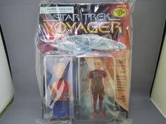 Out of print goods Star Trek Voyager Action Figures 5 inches ( KES ) @ niftywarehouse.com #NiftyWarehouse #StarTrek #Trekkie #Geek #Nerd #Products