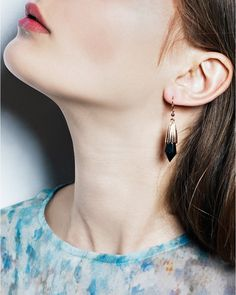 Ebony Diamond Earrings