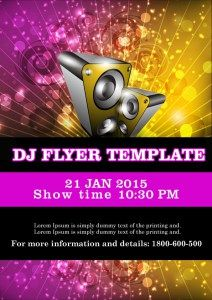 32 best dj flyer templates images on pinterest dj and flyer template