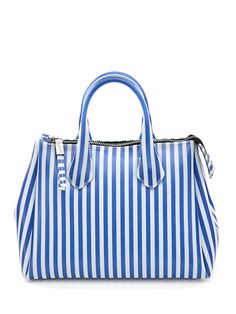 Gum by Gianni Chiarini - Borse - Accessori - Borsa in lattice con chiusura a zip. Tracolla inclusa, misure 31 x 25 cm - BLU - € 75.00