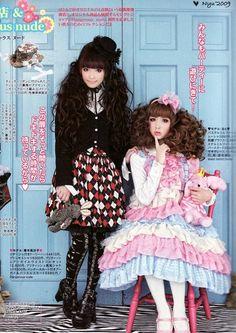 Girly & Gothic Lolitas