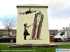 kunstkast pascal de la haye La Haye, Urban Street Art, Box Art, Holland, Painting, Seeds, Shop Signs, Dutch Netherlands, Painting Art