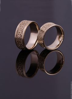 """Купить Обручальное кольцо """"Традиционное"""" - золотой, обручальные кольца, кольца с узорами, каталог колец, обручалки"""