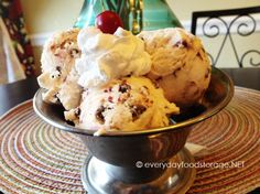 How to make homemade ice cream with out an ice cream maker.  Half a gallon of premium ice cream costing under $2?  That alone makes it worth doing.