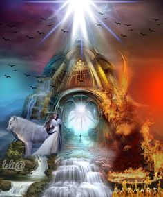 Portal de Água... Luz... E Fogo... - Lelia  Sarda
