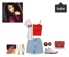 """""""Keydrah~Outfit"""" by goldsouls ❤ liked on Polyvore featuring Topshop, WearAll, Majestic, Retrò and Chanel"""