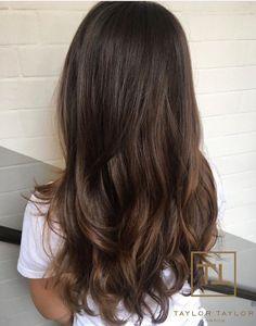 Image result for subtle brunette balayage