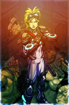 StarCraft Nova cover color by *Chuckdee on deviantART