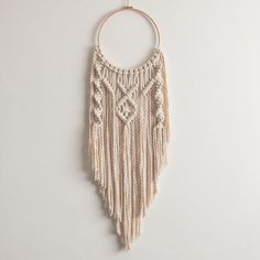 macrame on a hoop - Google Search