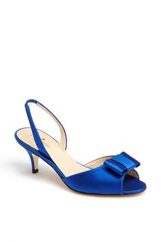 Pretty blue beauties!  Loving these kate spade new york Cobalt Sandals