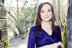 The beautiful Julie Fowlis wearing a Large Cluster Necklace by Amy C Mackay Cluster Necklace, Amy, V Neck, People, How To Wear, Theatre, Beautiful, Folk, Jewellery