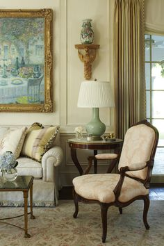 Living Room by Katherine Shenaman Interiors