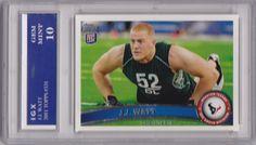 J.J. WATT RC 2011 Topps HOUSTON TEXANS ROOKIE CARD Gem Mint (10) Football $$ JJ