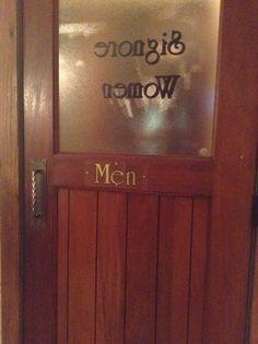 Confused door