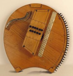 Cordas Harpa - Meloharp Miner ou Fretless Zither