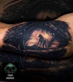Tattoo ojo de perro