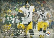 2014 Topps Fantasy Focus #FF-BR Ben Roethlisberger, Pittsburgh Steelers