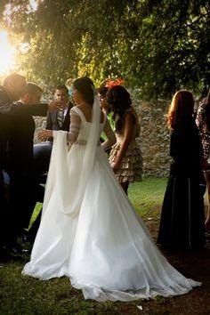 oh!myWedding: La boda de Cristina y Alejandro www.mercedesblanco.com