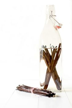 I received a perpetual vanilla extract bottle years ago.  Love this idea. I buy my vanilla beans at the local health food store.  Just keep refilling the liquid..
