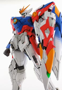 MG 1/100 Wing Gundam Proto Zero - Custom Build  by matmat   Probably the best Proto Zero custom build I've seen so far. The details are out...