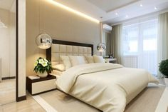 Sophisticated Bedroom With Nice Lighting And Comfortable Bed Very Good Design Ideas Interior Decorating Ideas Bedroom : Get the right ideas with consider your budget Bedroom design