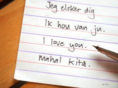 How To Say I Love You in 15 Different Languages