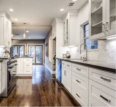 Image result for white shaker cabinets