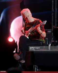 Adam Clayton performs in concert with during day 2 of the Bonnaroo Music & Arts Festival on June 2017 in Manchester, Tennessee. Paul Hewson, Country Music Concerts, Larry Mullen Jr, Adam Clayton, Best Guitarist, Looking For People, Soundtrack To My Life, Rock Concert, U2