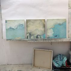 New triptych of 40cm canvases....