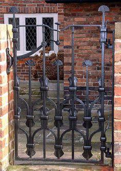Architectural ironwork   gates railings   balustrade   sculpture