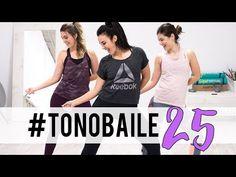 TONOBAILE 25 | Entrenamiento corto con pasos de baile - YouTube