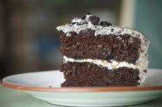 Cookies 'n cream cake recipe from scratch
