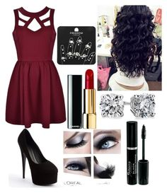 """""""Date night #3"""" by grace-55 ❤ liked on Polyvore featuring Giuseppe Zanotti, Blue Nile and Topshop"""