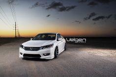 2013 Honda Accord on Velgen Wheels VMB8 20x10.5