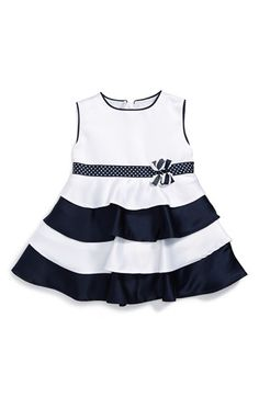 Dorissa Sleeveless Nautical Tier Party Dress (Baby Girls) available at #Nordstrom
