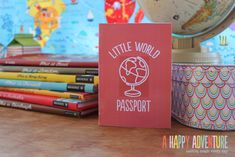 Print your own passport for crafting adventures with kiddos. LOVE this. From Hana at A Happy Adventure