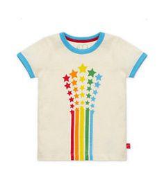 8100114ce Little Bird by Jools Shooting Stars T- Shirt - unisex - Mothercare. Modern  Rascals Organic Kids Clothing