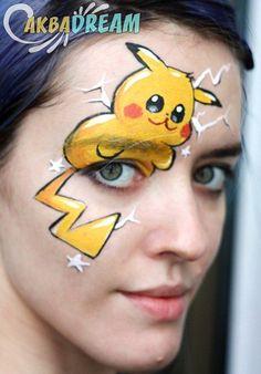 #facepaint #facepainting #face #paint #painting #pica #picachu #пикачу #пика #покемон #праздник #детскийпраздник #новый #go #pokemon #pokemongo #аквагрим #аквагримм #новогодний
